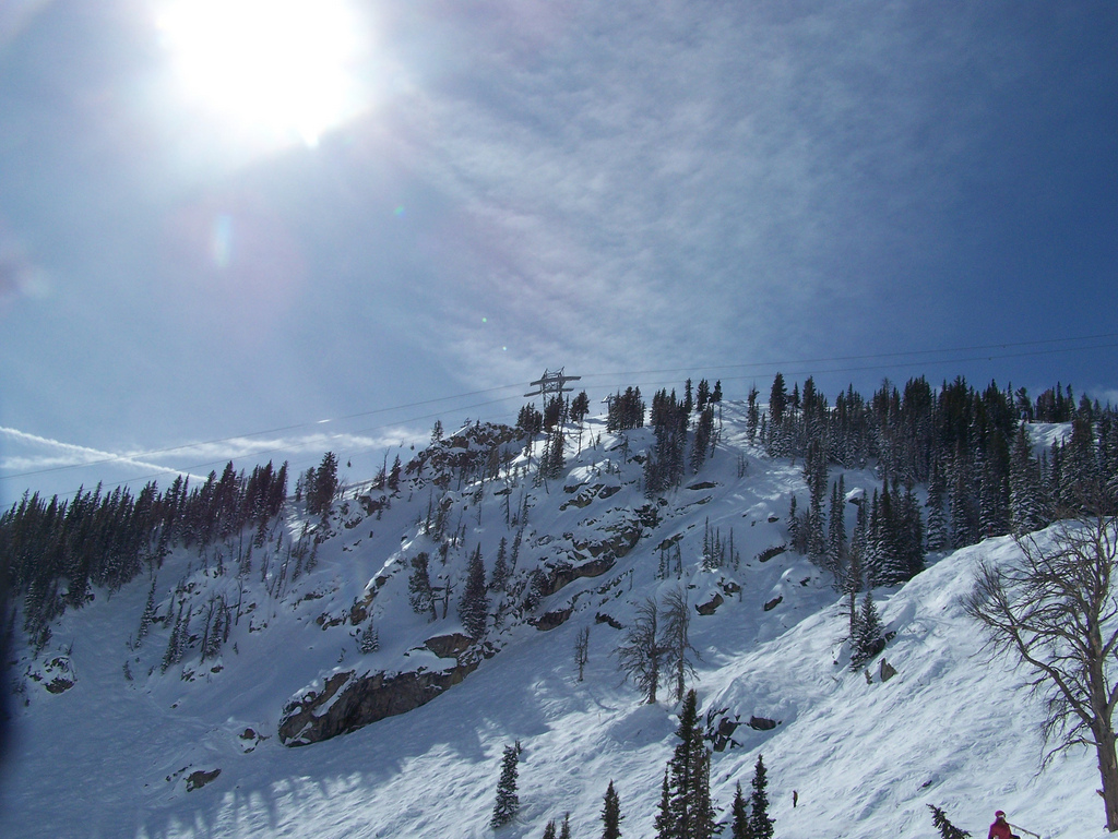 """Snowboarding at Jackson Hole"" by Ian via Flickr Creative Commons"