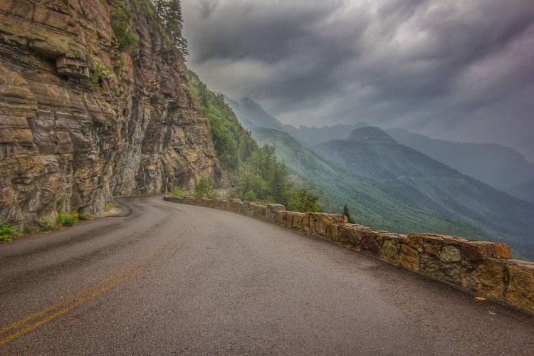 """Going to the Sun Road"" by Trevor Bexon via Flickr Creative Commons"