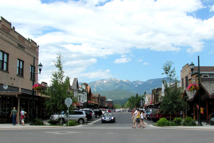 """Downtown Whitefish, MT"" by Ted via Flickr Creative Commons"
