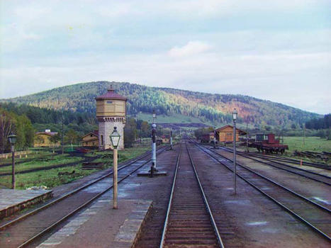Simskaia train station