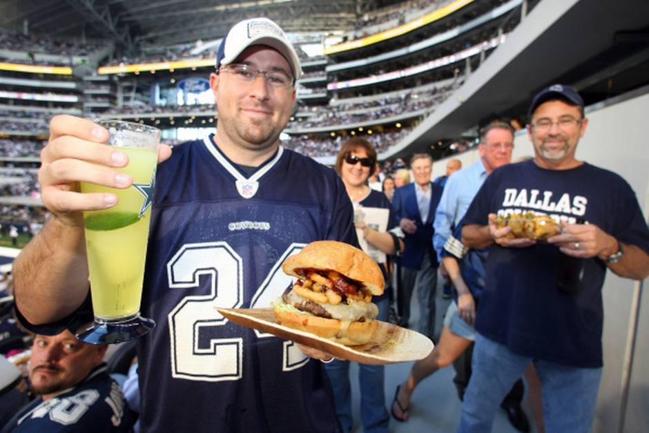The Best NFL Stadiums -- Ranked By Food