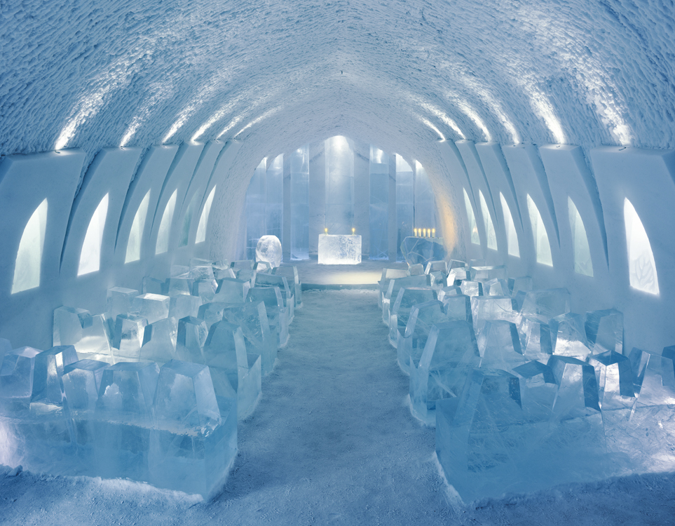 Photo Credit: Christopher Hauser via http://www.icehotel.com/
