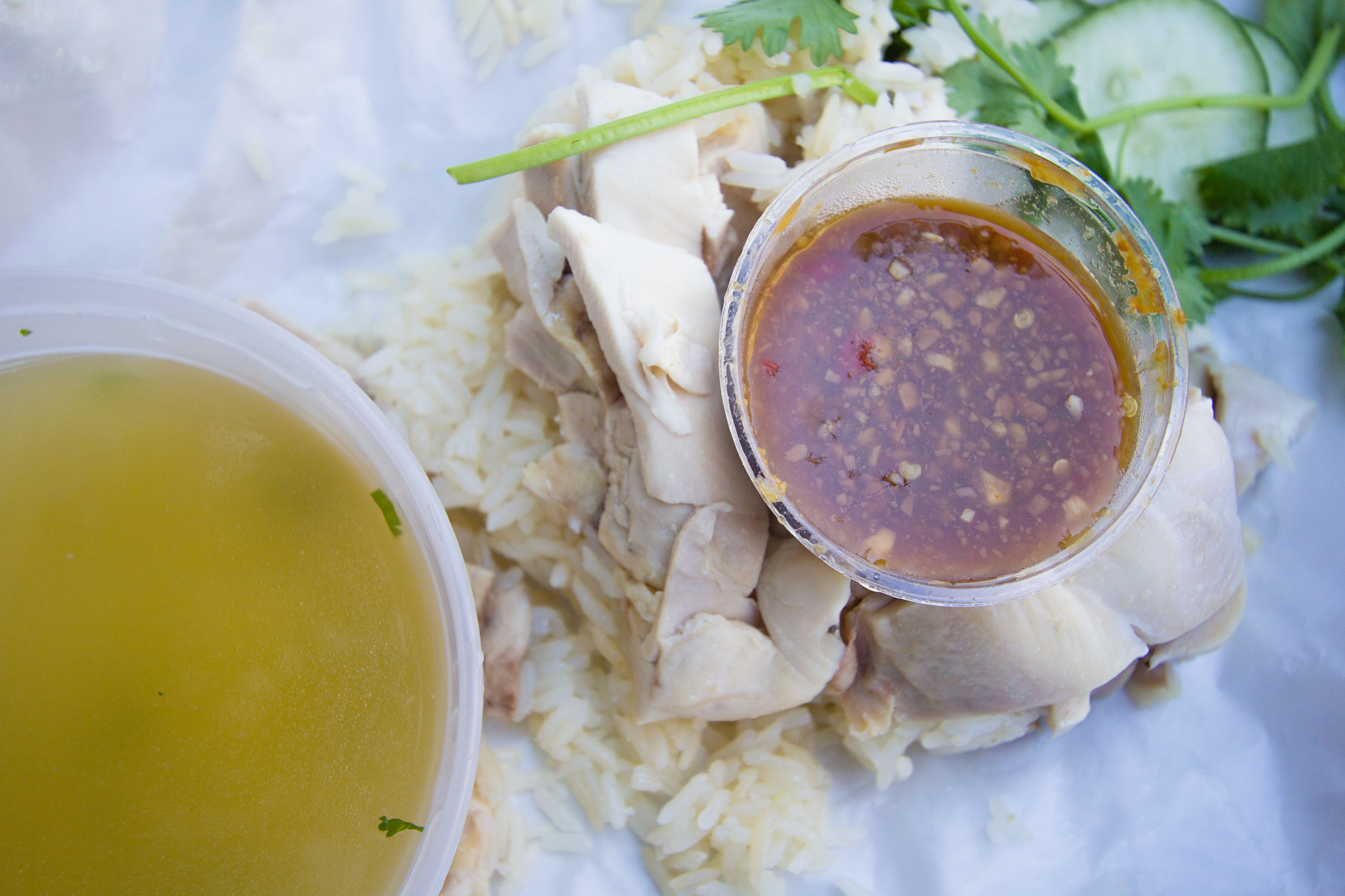 Nong's Khao Man Gai - Photo Credit: sstrieu on Flickr