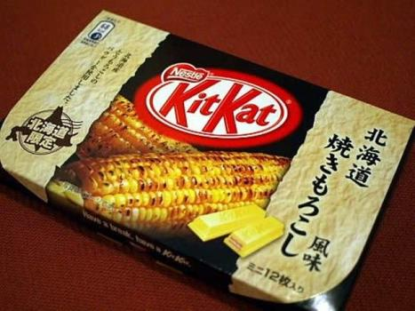 Kitkat sweetcorn