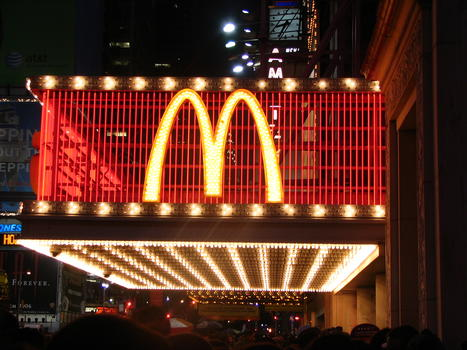 Mcdonald's sur times square