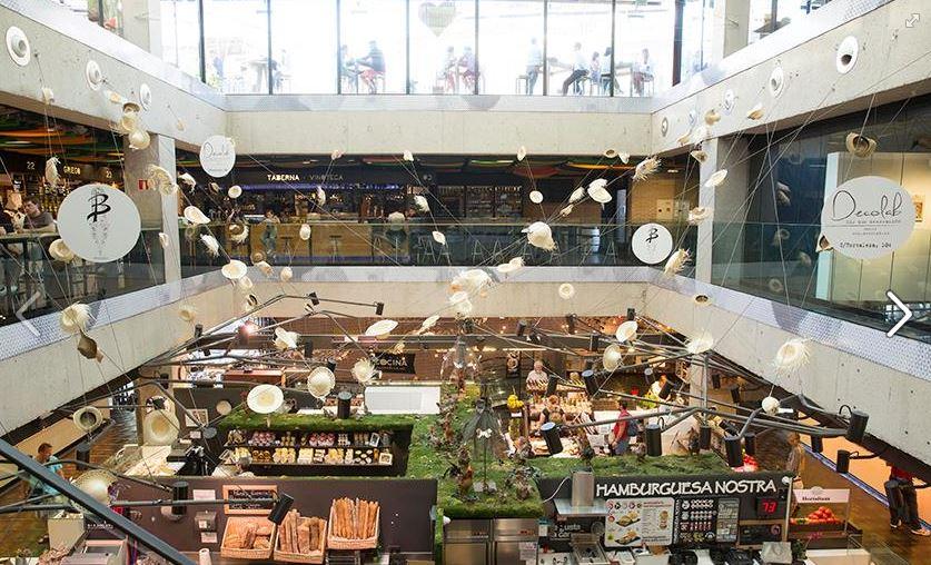 Photo via Mercado de San Anton's Facebook page