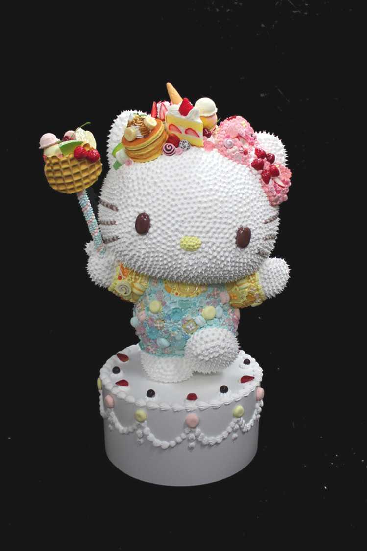 "Osamu Watanabe's delectable ""Sweet Kitty""  Photo Credit: Sanrio"
