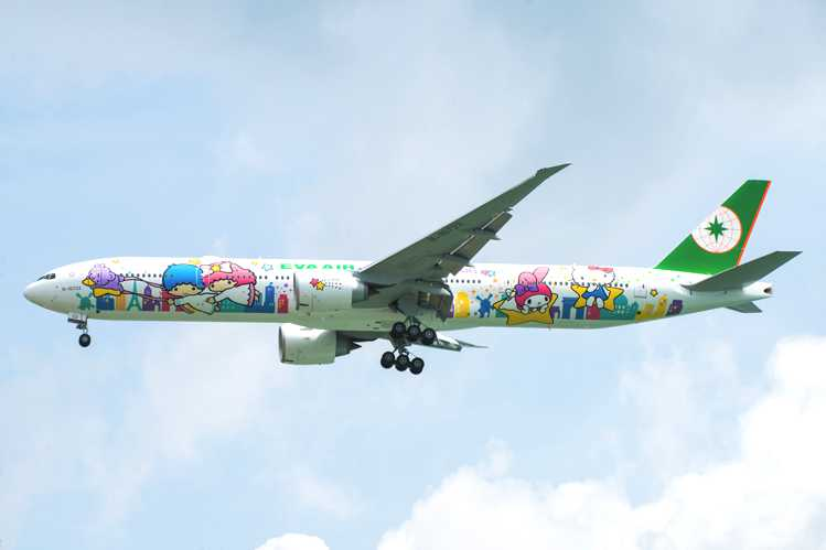 Fly the friendly skies, Hello Kitty style.  Photo Credit: Sanrio