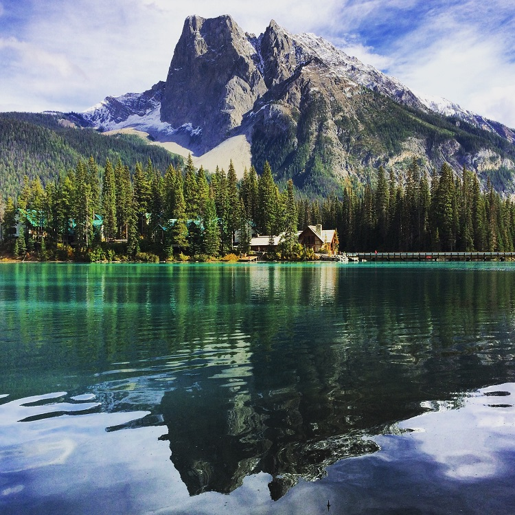 Emerald Lake, photo by Megan Hill