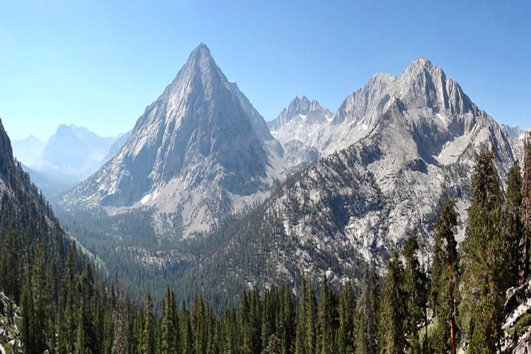 East Vidette From Joh Muir Trail, by Miguel Vieira
