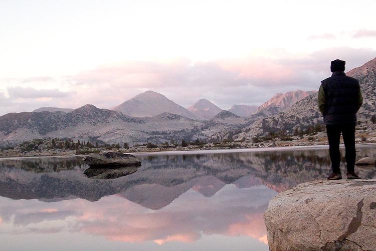 hiking John Muir Trail, by Rick McCharles