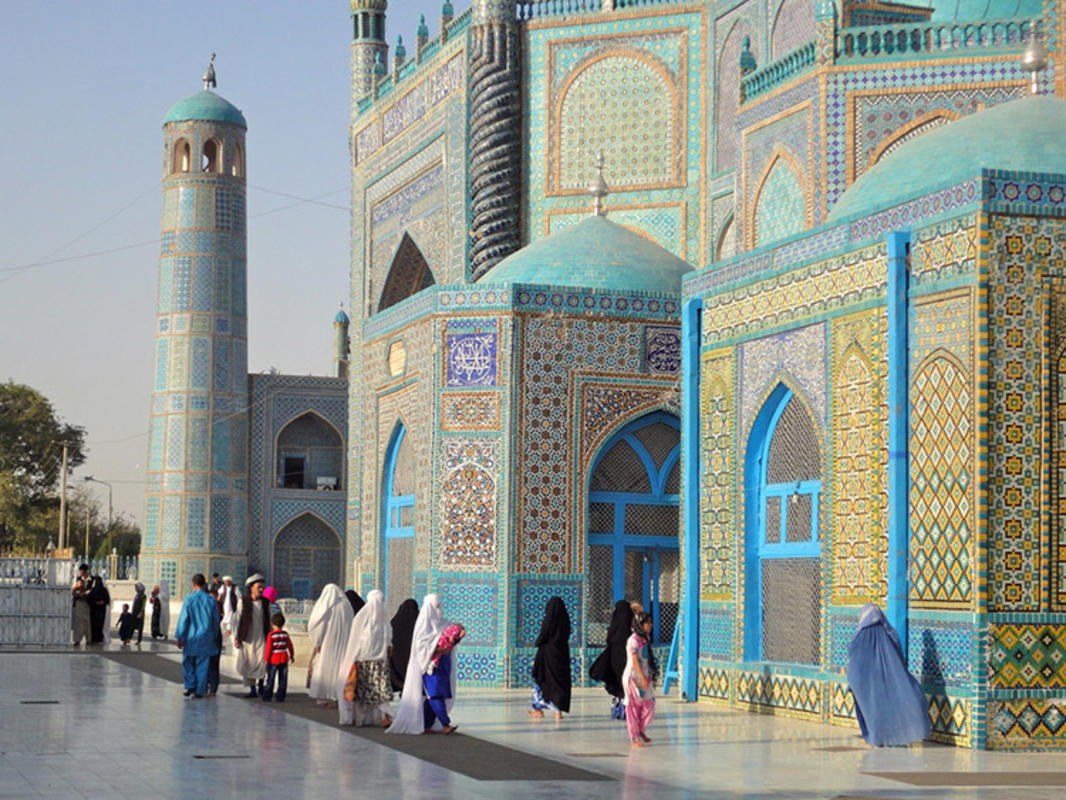 """""""Afghanistan has to take its future in its own hands""""  