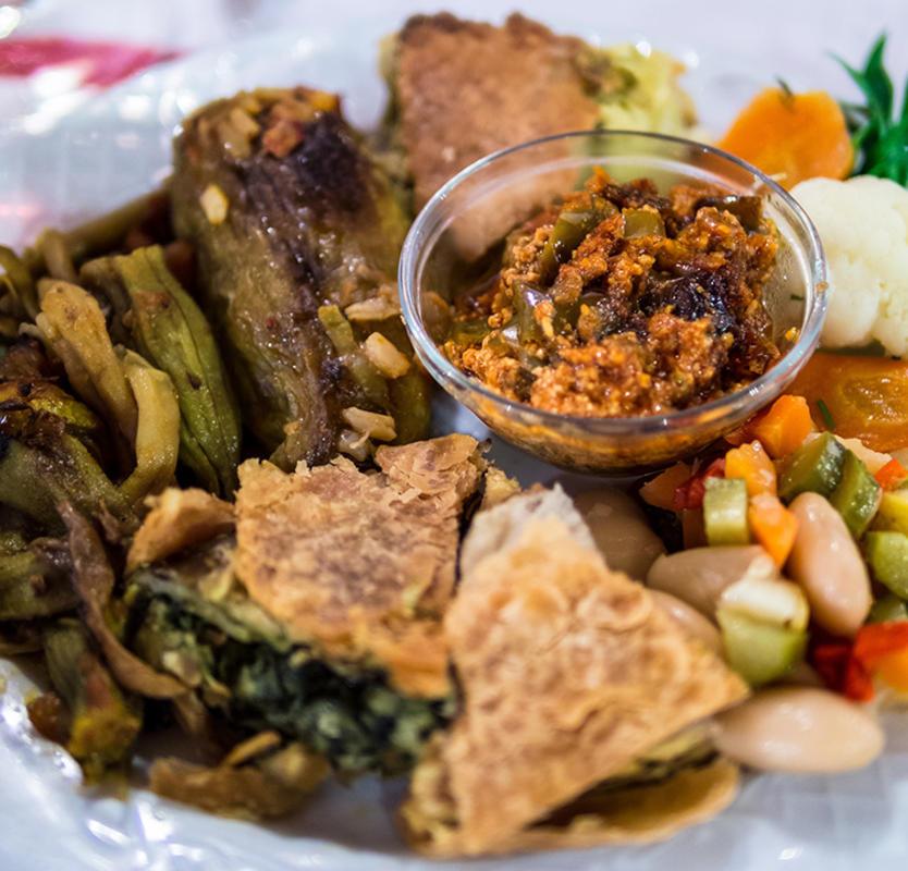 Traditional Albanian Easter Food, Photo Credit: kaveman743