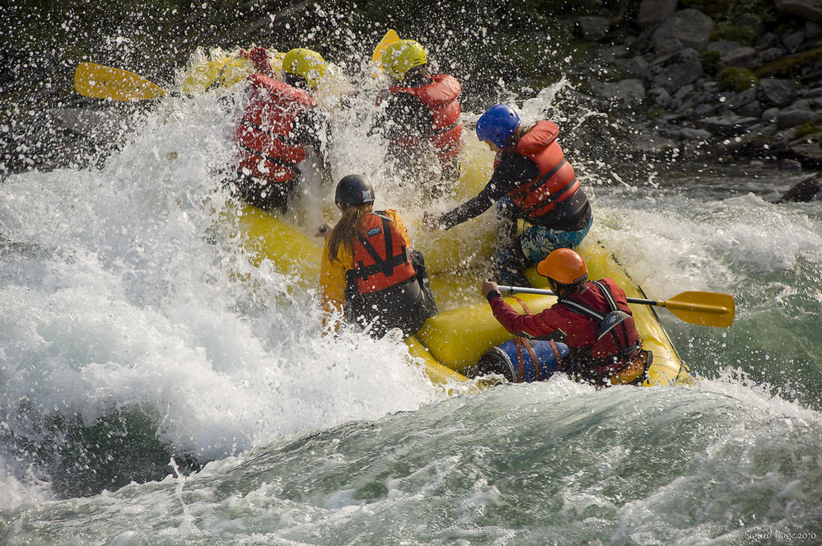 """Whitewater Rafting"" by Sigurd Rage via Flickr Creative Commons"