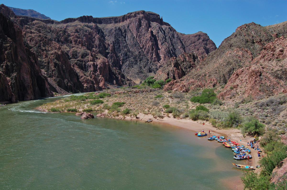 """Grand Canyon National Park: Phantom Ranch Boat Beach 0017"" by Grand Canyon National Park via Flickr Creative Commons"