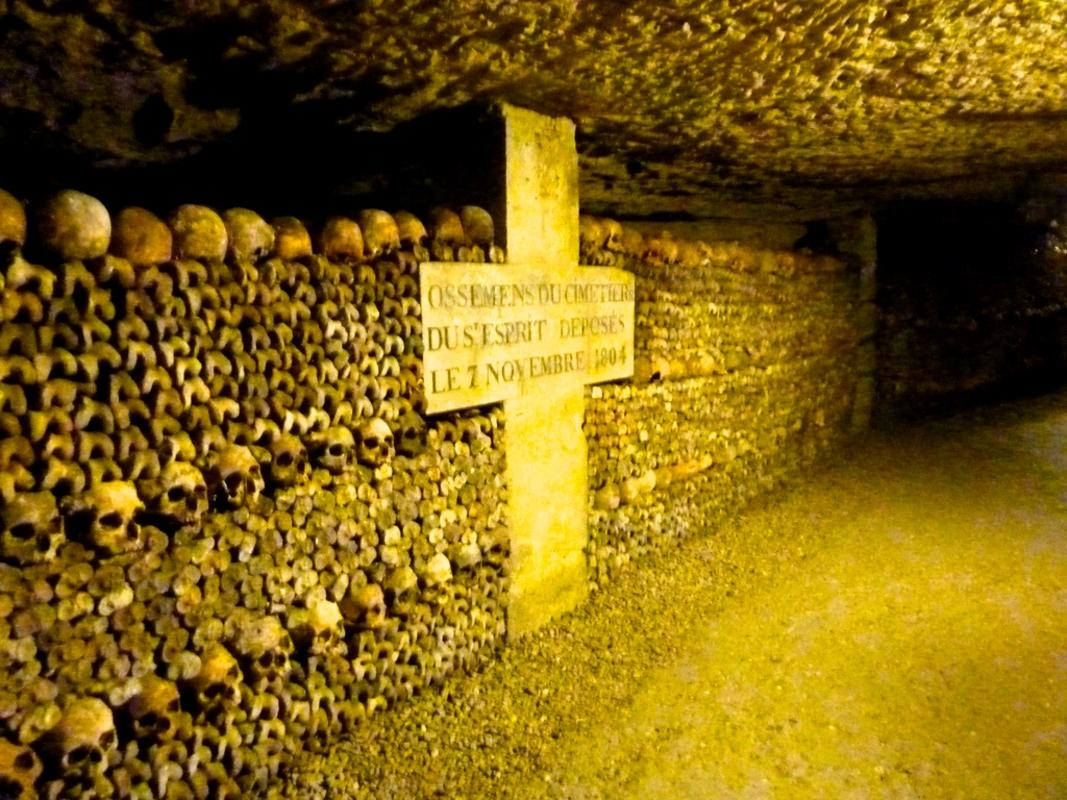 """Paris Catacombs"" by Tridekker via Flickr Creative Commons"