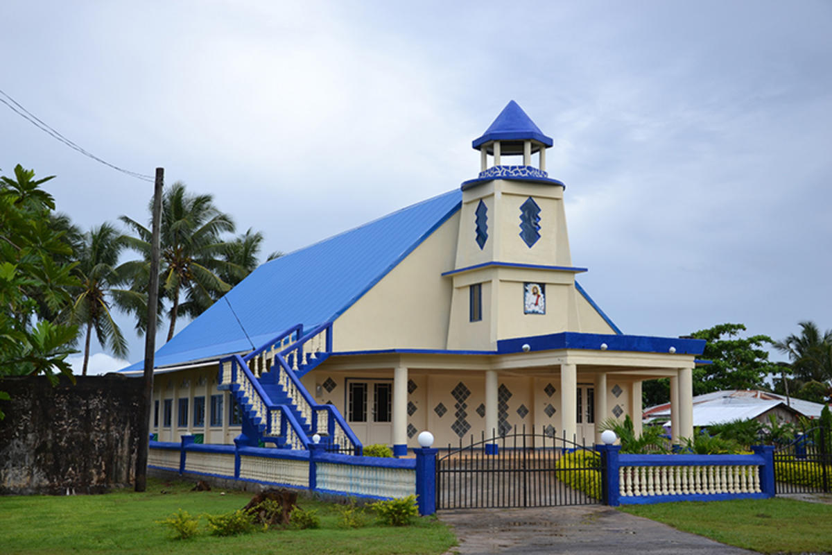 """Samoan Church"" by Simon Clancy via Flickr Creative Commons"