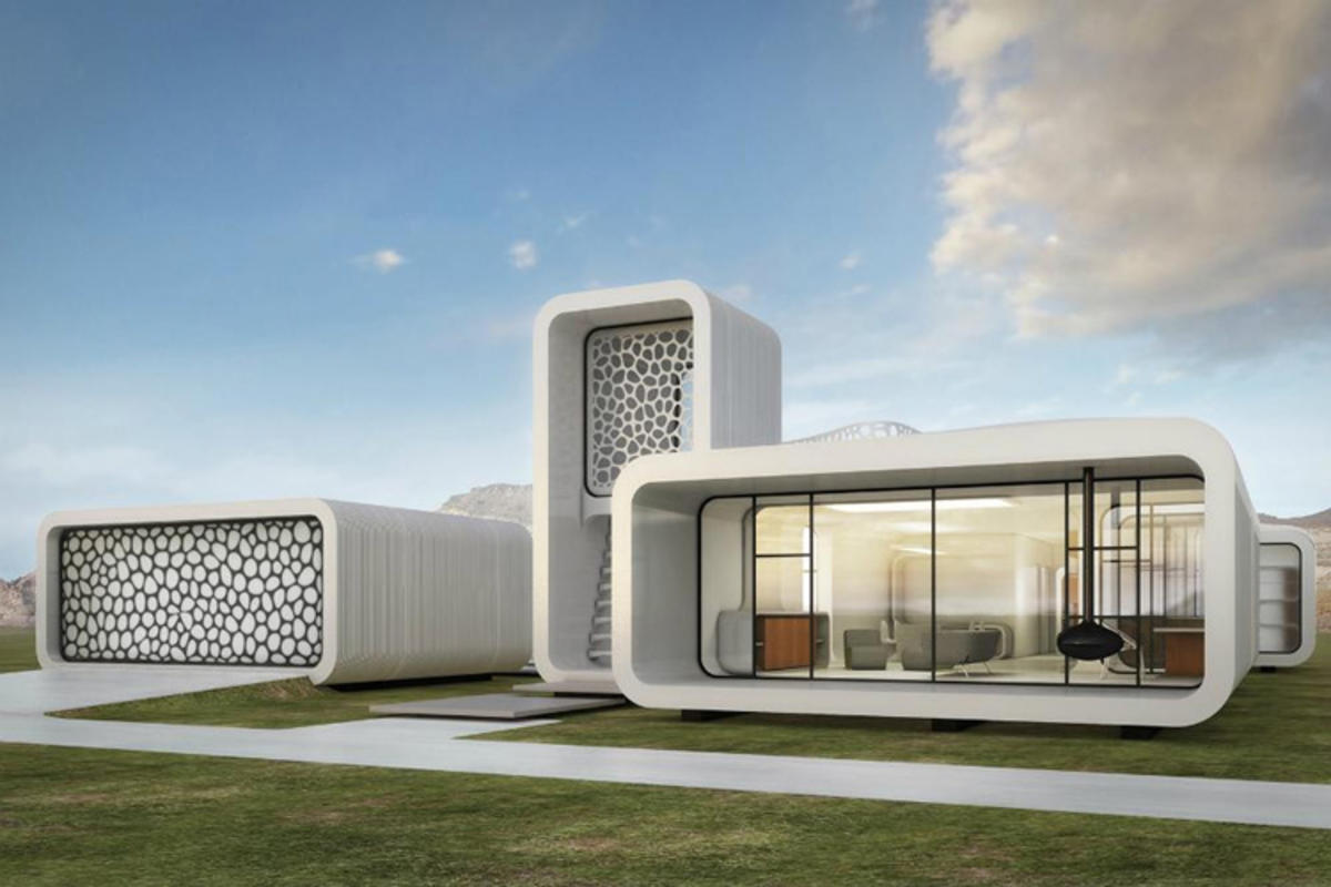Dubai's 3D printed building