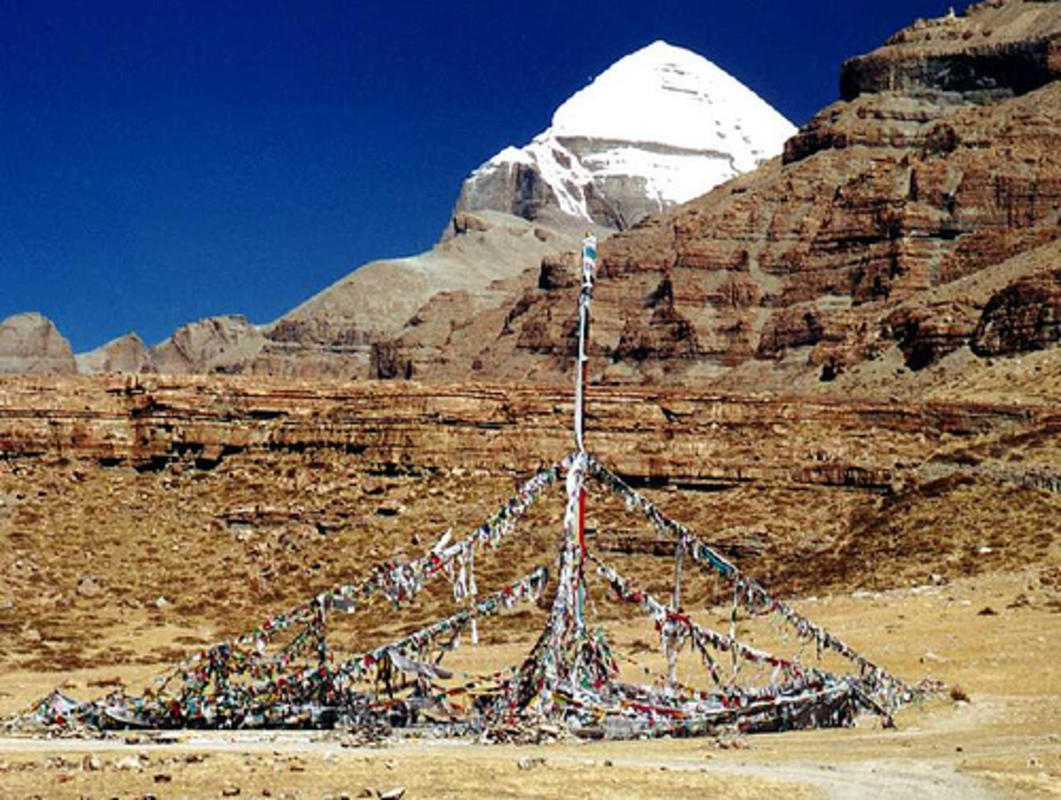 """Mount Kailash in W. Tibet, China"" by Sundaram + Annam via Flickr Creative Commons"