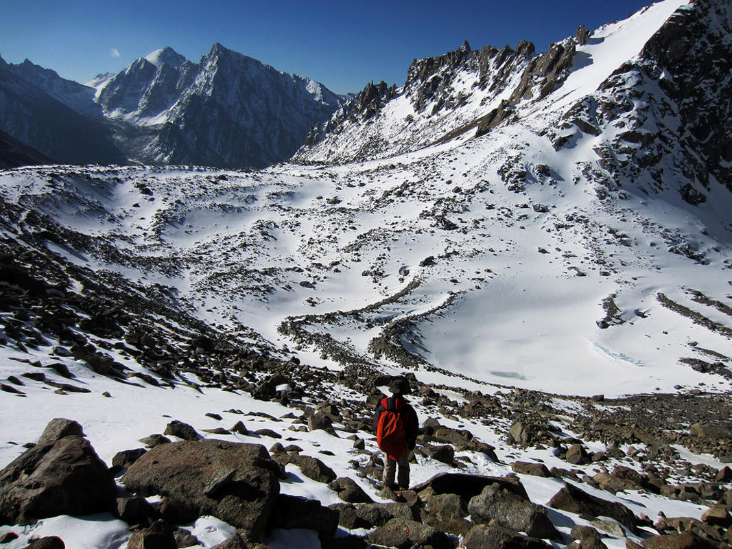"""Dolma La Pass & Gaurikund Lake - Kailash"" by ccdoh1 via Flickr Creative Commons"