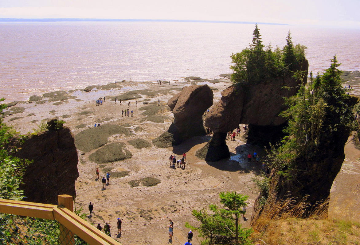 """Hopewell Rocks, Bay of Fundy, New Brunswick, Canada"" by Andrea_44 via Flickr Creative Commons"