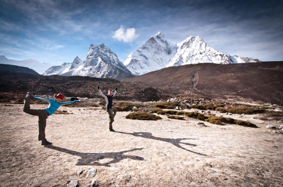 """Yoga Trekking"" by Ryan Smith via Flickr Creative Commons"