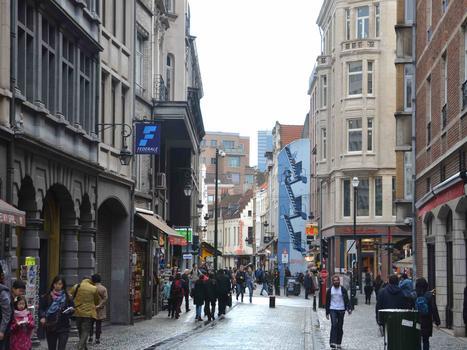 Street scene brussels