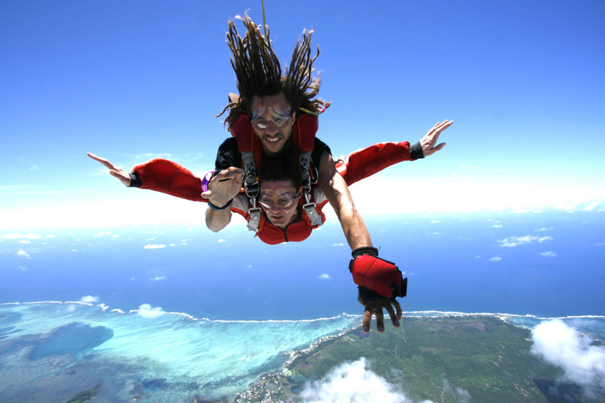 Photo Credit: SkyDive Austral Mauritius