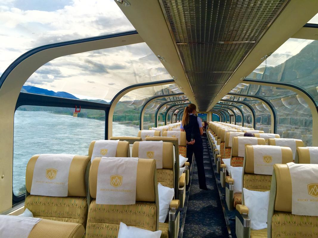 Rocky Mountaineer Gold Dome - Photo Credit: Ava Roxanne Stritt