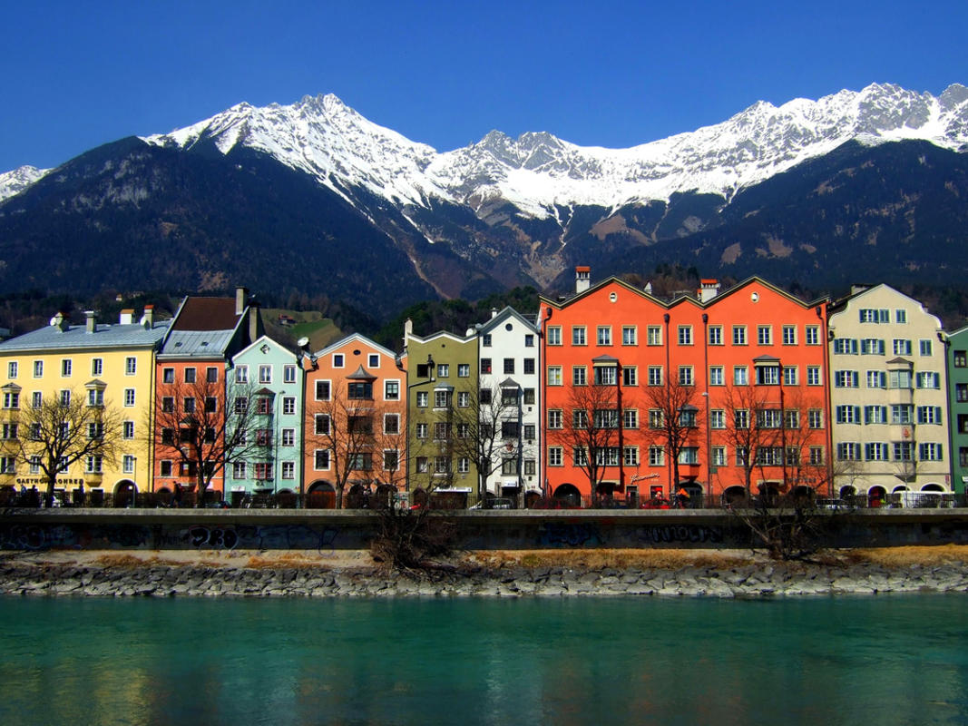 """Colours in Innsbruck"" by James Cridland via Flickr Creative Commons"