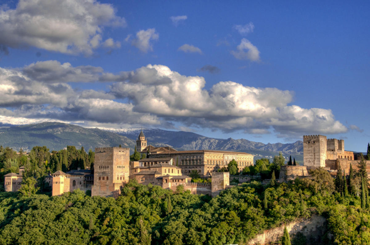 """Alhambra de Granada"" by Cristóbal Poyato via Flickr Creative Commons"