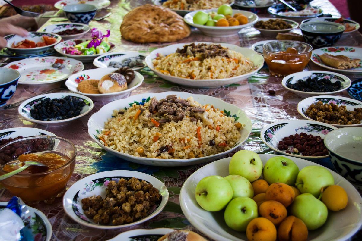 Uzbekistan Food And Restaurants