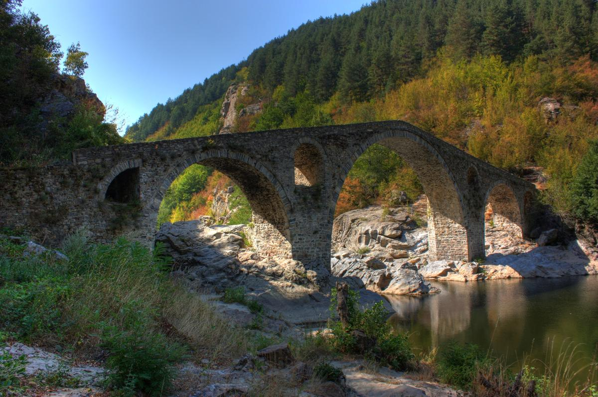 Devil's Bridge by Klearchos Kapoutsis