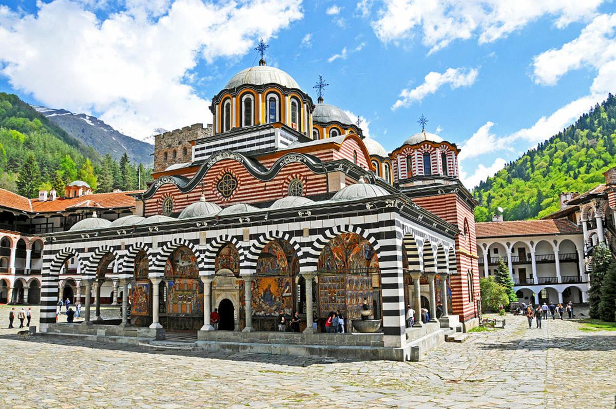 Rila Monastery by Dennis Jarvis