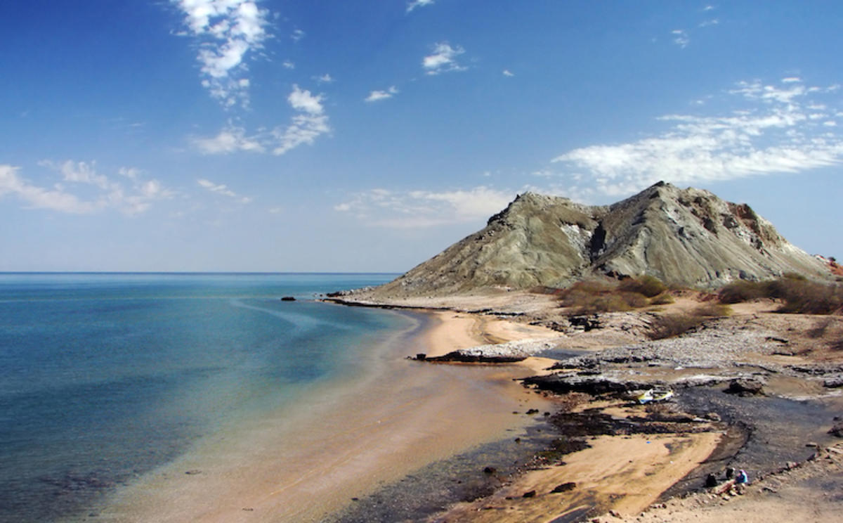 """Khezr Beach, Hormoz Island, Persian Gulf, Iran"" by Hamed Saber via Flickr Creative Commons"