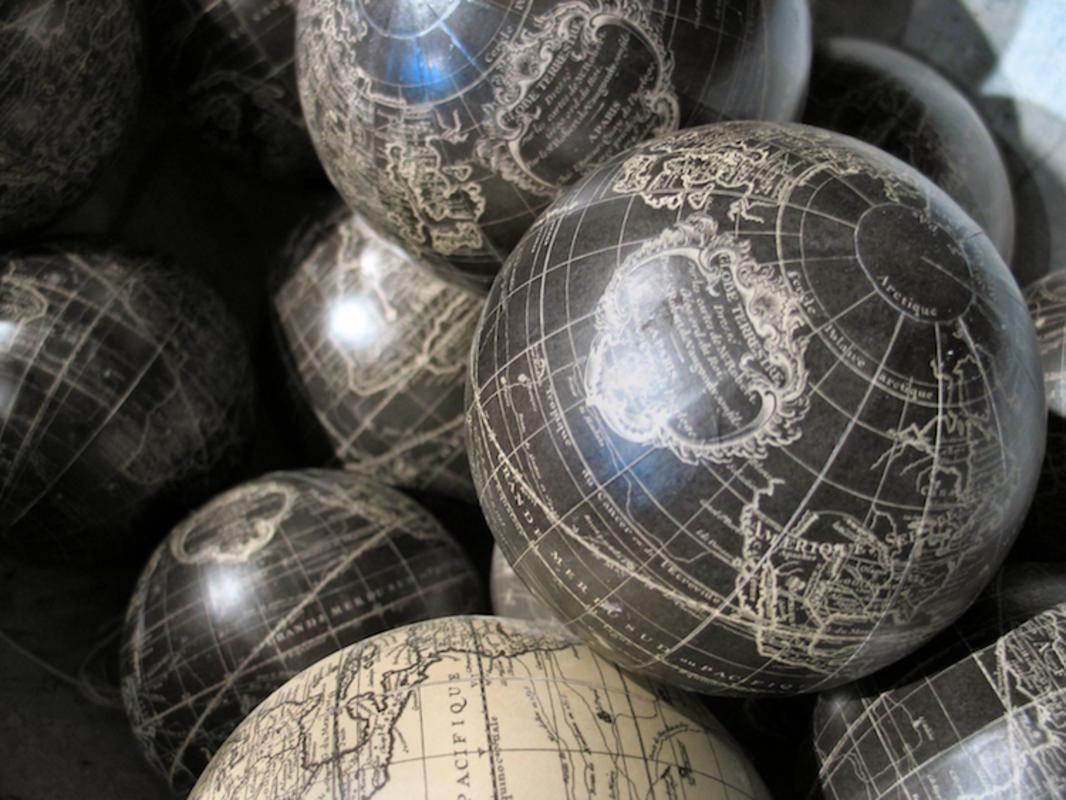 """Globes"" by Jayel Aheram via Flickr Creative Commons"