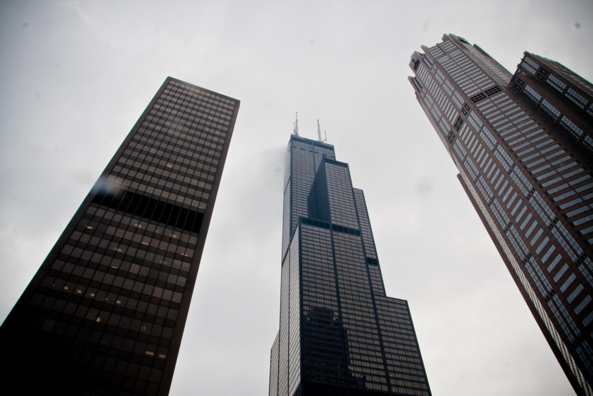 """Sears Tower (Willis Tower)"" by Lubomir Panak via Flickr Creative Commons"
