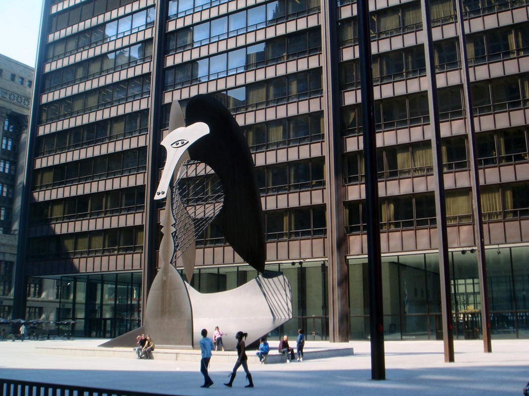 """Daley Plaza"" by Jaysin Trevino via Flickr Creative Commons"
