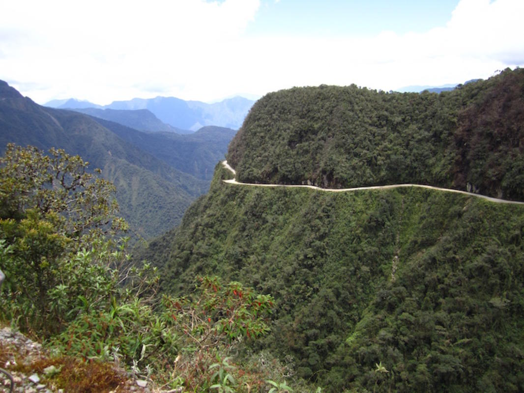 """Yungas road/Death road"" by AHLN via Flickr Creative Commons"