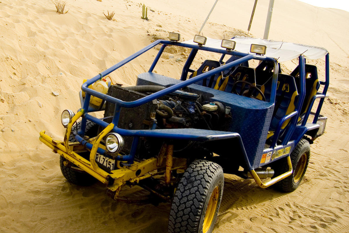 """Blue Buggy"" by Robert Luna via Flickr Creative Commons"
