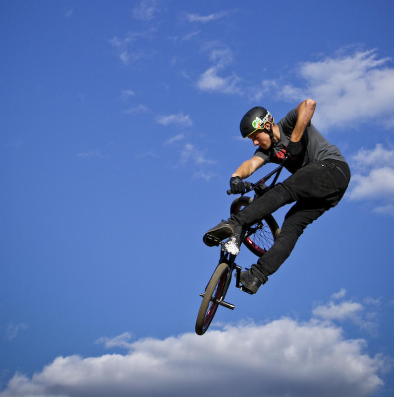 """BMX"" by Zorah Olivia via Flickr Creative Commons"
