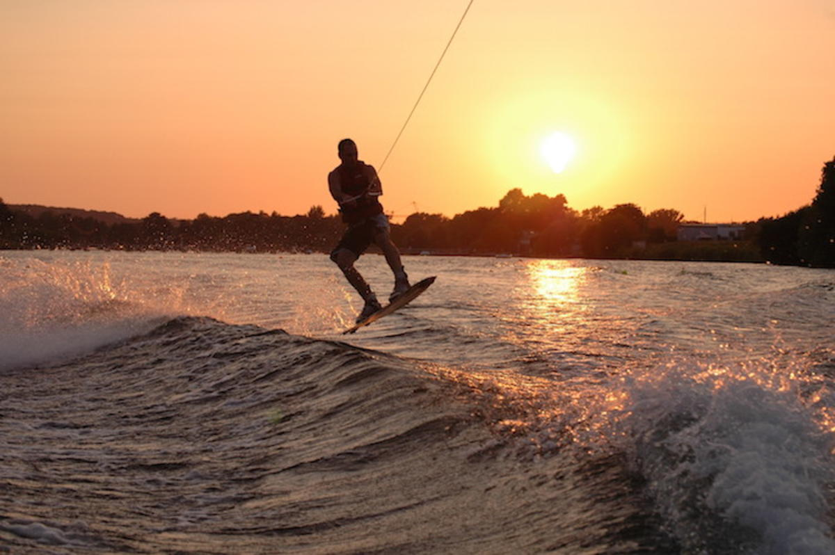 """Wakeboarding"" by Myke Lyons via Flickr Creative Commons"