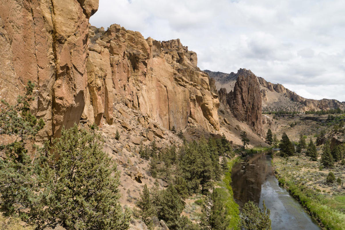 """Smith Rock"" by Brookpeterson via Flickr Creative Commons"