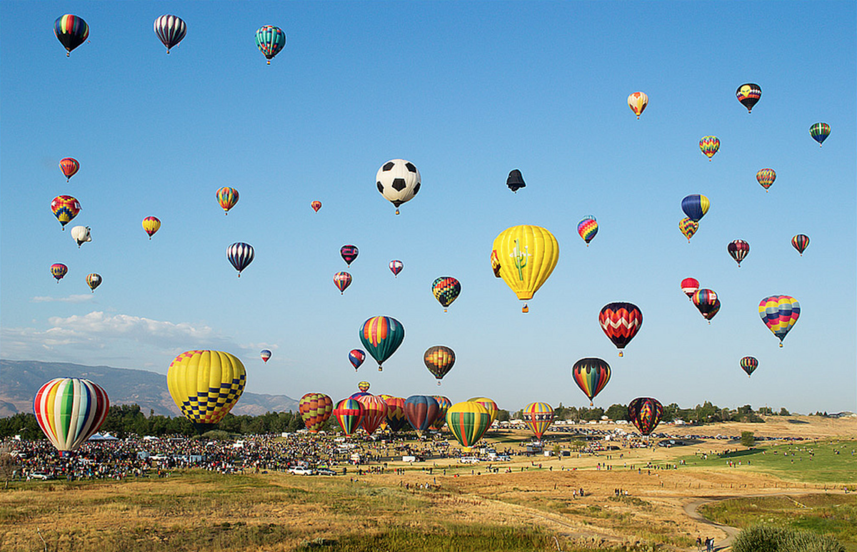Up Up And Away A Guide To The Best Hot Air Balloon