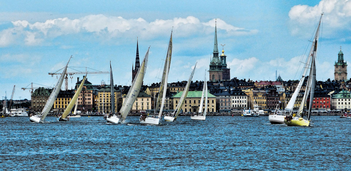 """""""Stockholm View - Explore"""" by Mariano Mantel via Flickr Creative Commons"""