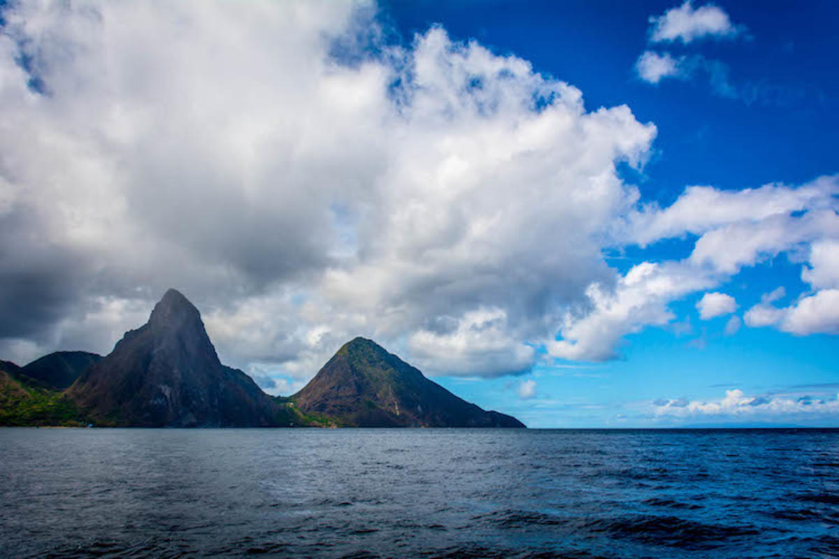 """Pitons of St. Lucia"" by Ron Kroetz via Flickr Creative Commons"