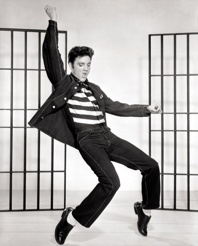 """Elvis Presley Jailhouse Rock"" via Wikimedia Commons"
