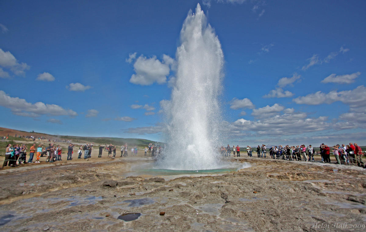 """The Great Geyser"" by Helgi Halldórsson via Flickr Creative Commons"