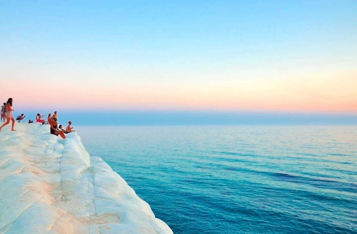 """Scala dei Turchi, Realmonte, Italy"" by Davide Ragusa via Unsplash"