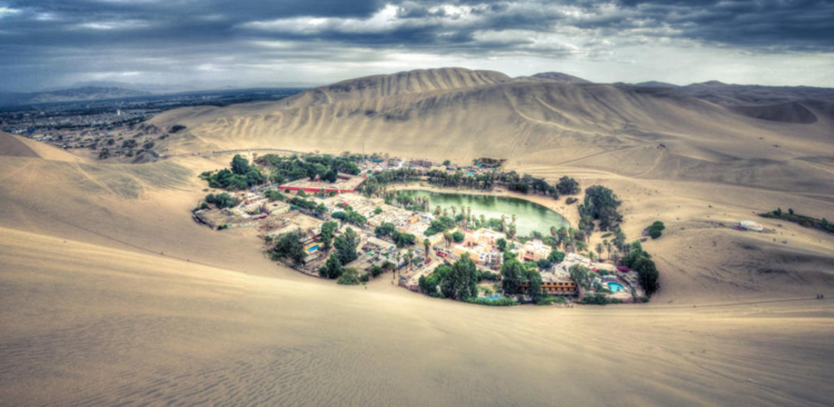 """Huacachina"" by Babak Fakhamzadeh via Flickr Creative Commons"
